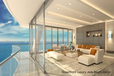 Oceanfront Luxury Jade Beach Condo